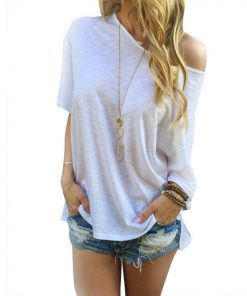 Off the Shoulder Loose Tee