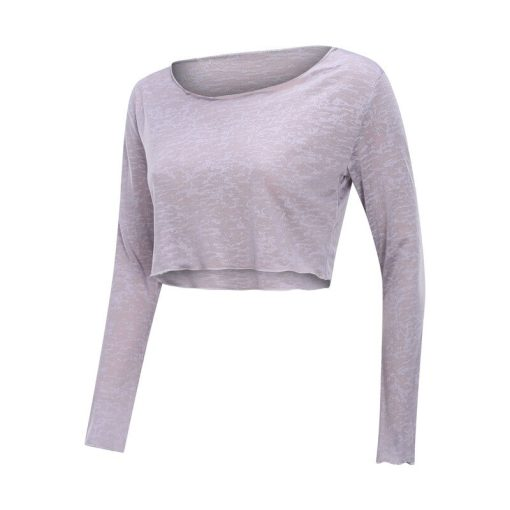 Breathable Cropped Yoga Top 6