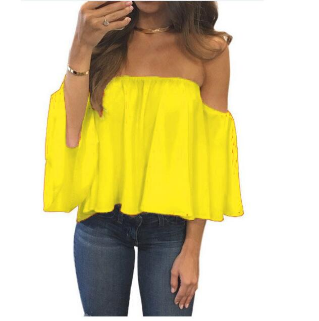 Off Shoulder Strapless Top 6