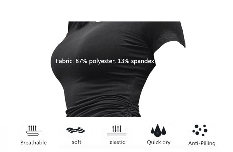 1908962558 1 - Side Tie Cropped Fitness Top