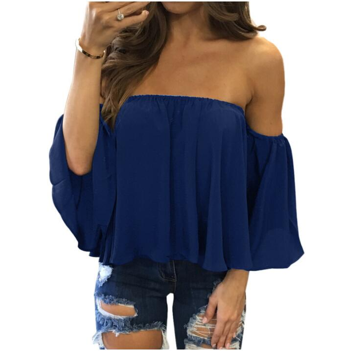 Off Shoulder Strapless Top 9