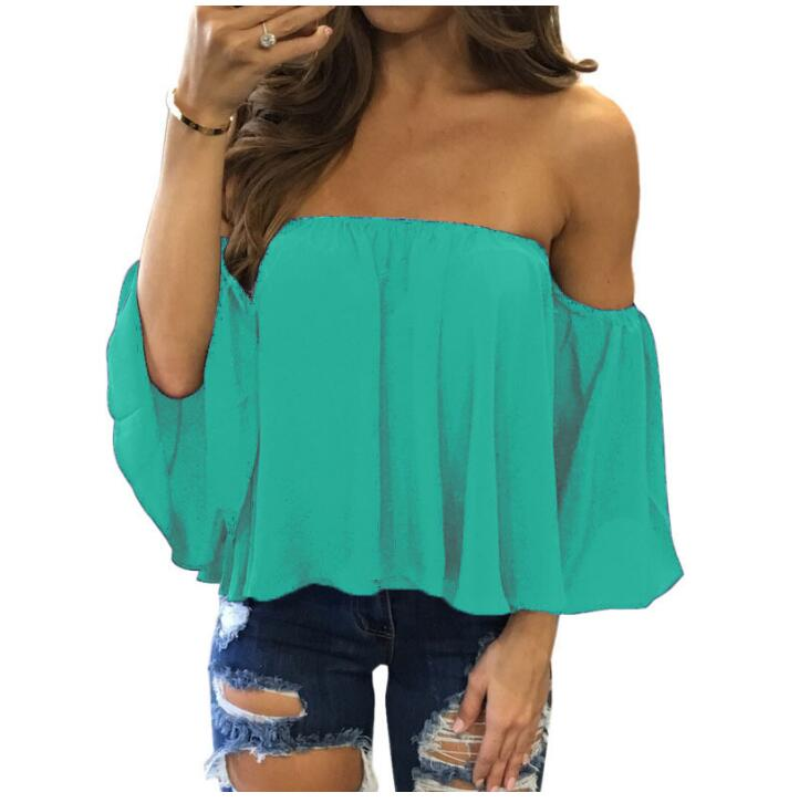 Off Shoulder Strapless Top 8