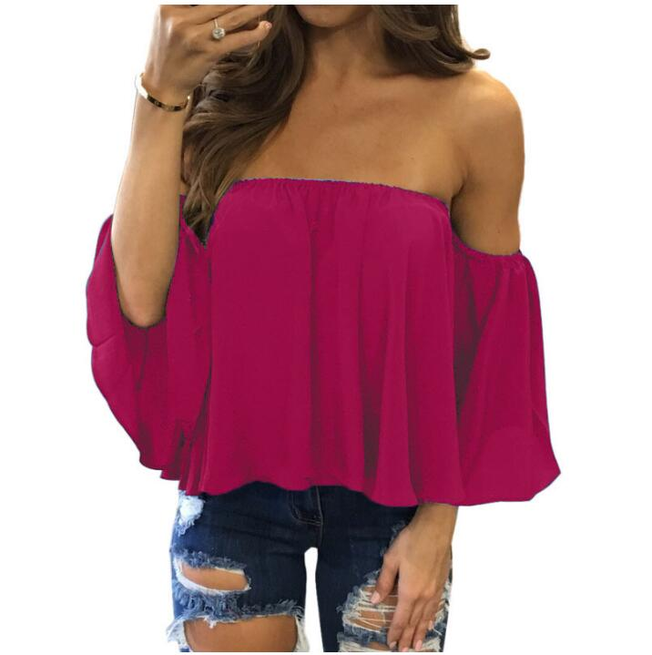 Off Shoulder Strapless Top 10