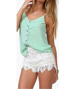 Flowery Lace Shorts