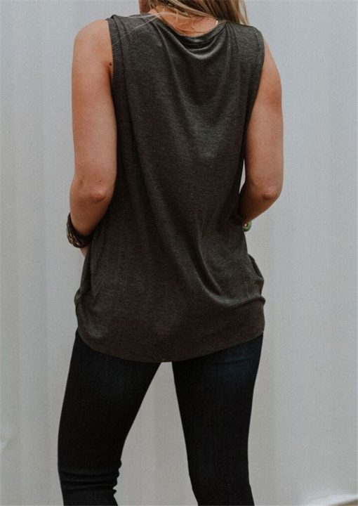 Good Vibes Sleeveless Muscle Tee 2