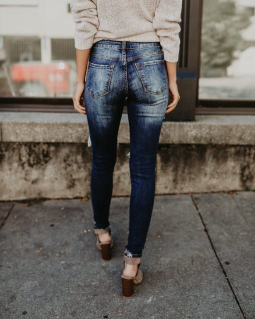 Distressed Ripped Jeans 3