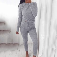 Casual Two Piece Loungewear Tracksuit