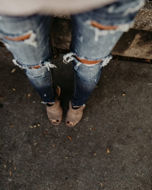 Distressed Ripped Jeans 5