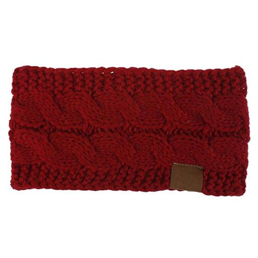 Wool Knitted Headband 2
