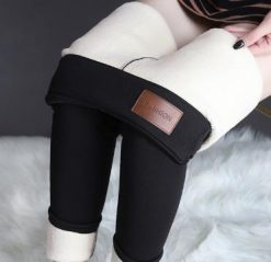 Thick Velvet Lined Winter Leggings 17