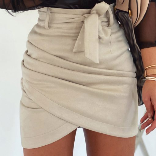 Cross Front Pencil Skirt 1