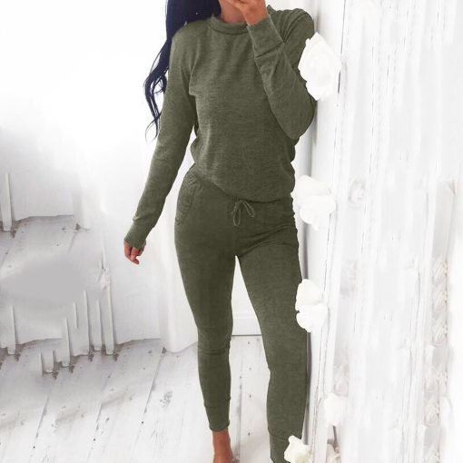 Casual Two Piece Loungewear Tracksuit  5