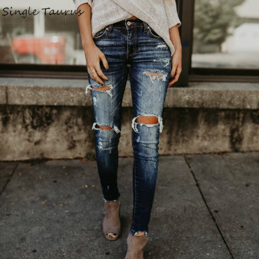 Distressed Ripped Jeans 1