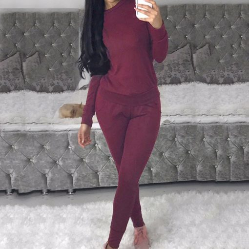 Casual Two Piece Loungewear Tracksuit  6