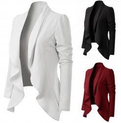 Asymmetrical Fitted Blazer 1