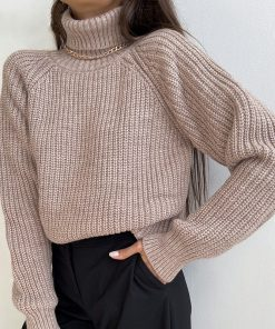 Turtleneck Pullover Sweater 247x296 - Turtleneck Pullover Sweater
