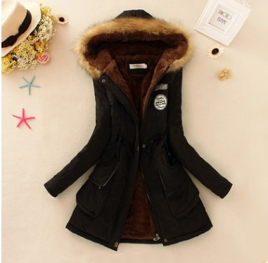 Faux Fur Hooded Winter Coat 21
