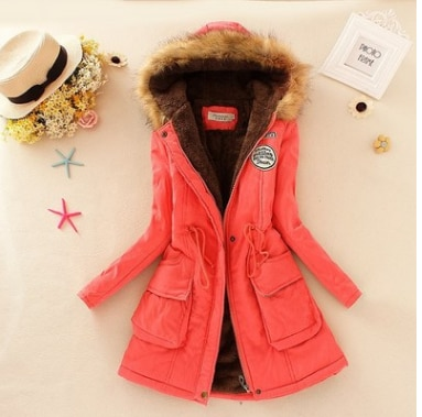 Faux Fur Hooded Winter Coat 13