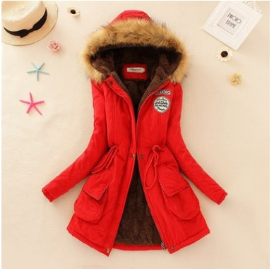 Faux Fur Hooded Winter Coat 11