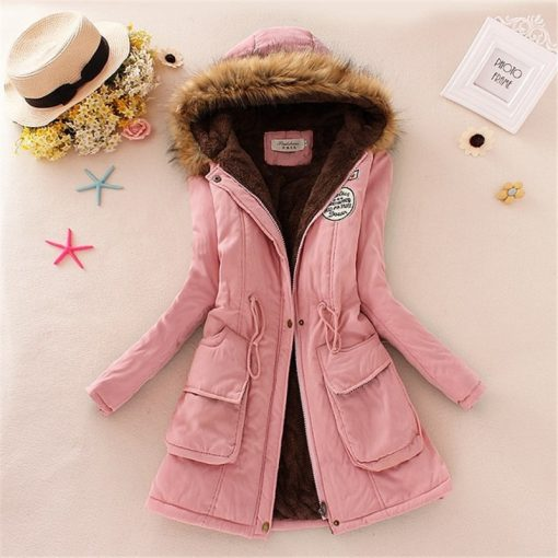 Faux Fur Hooded Winter Coat 5