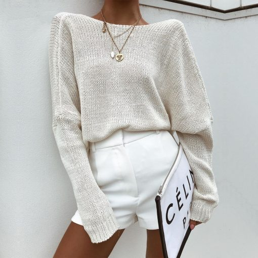 Reversible Criss Cross Knitted Long Sleeve Sweater 0001 Layer 5 510x510 - Reversible Criss Cross Knitted Long Sleeve Sweater
