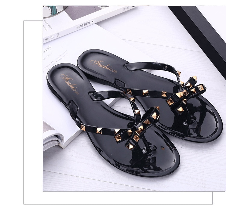 278145435 1 - Studded Jelly Sandals