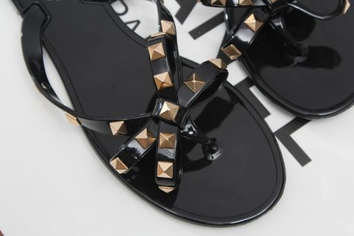 Studded Jelly Sandals